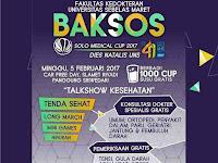 Baksos bagi-bagi 1.000 gelas susu gratis di car free day Solo