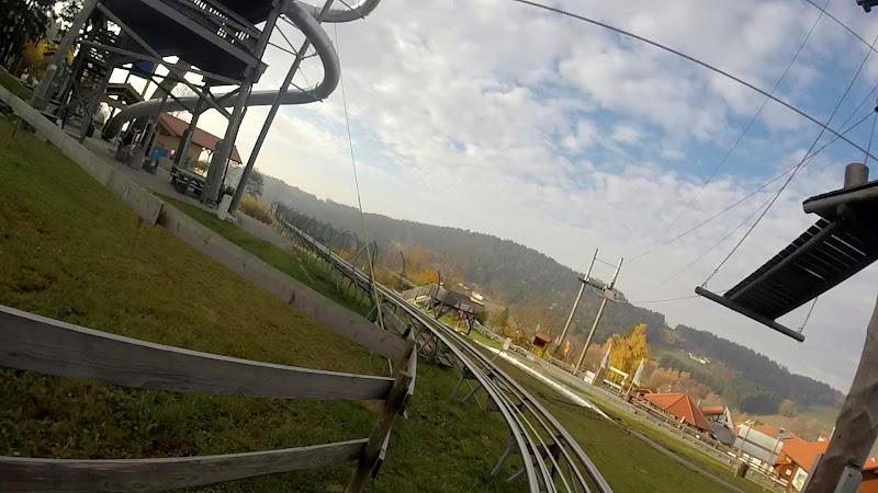Mit dem Bayerwald-Coaster unterwegs...