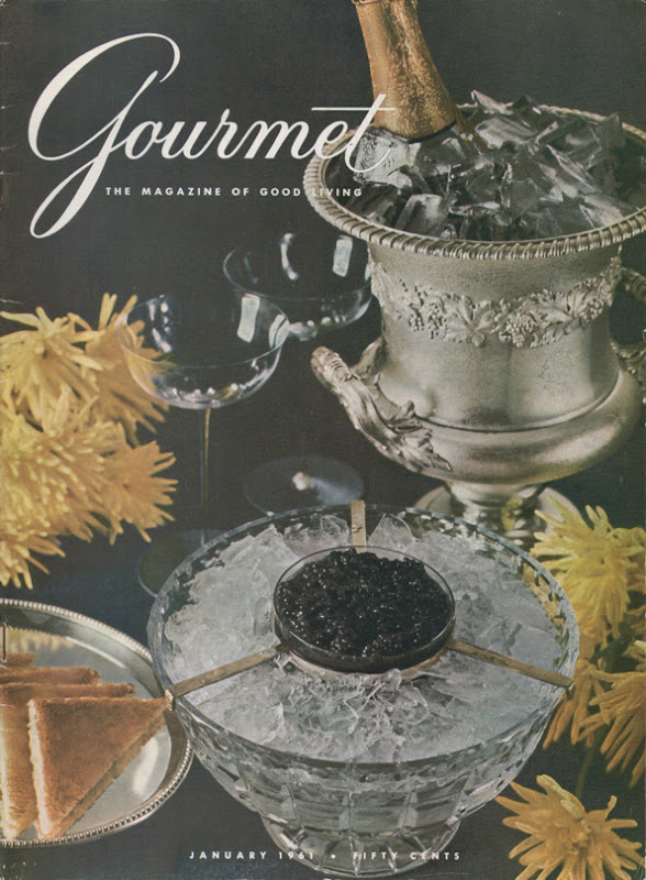 Gourmet Magazine January 1961