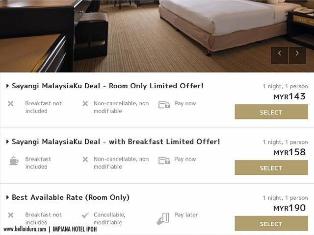 Impana hotel ipoh, penginapan terbaik ipoh, hotel ipoh, hotel terbaik ipoh, ipoh, bercuti ke ipoh