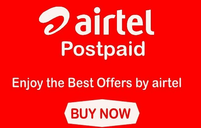 Airtel Postpaid Offer - Get 5 GB 4G Data Every Month Upto 1 Year