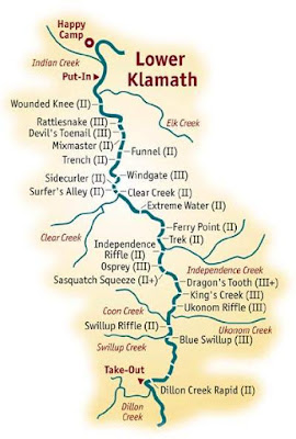 klamath river rafting trips