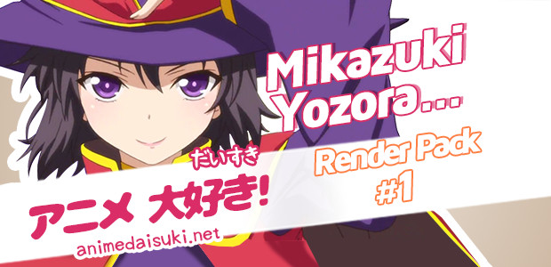 Anime Render Mikazuki Yozora