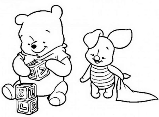 Free Color Pages Winnie The Pooh  Winnie The Pooh Coloring Book Coloring  Pages Of Winnie