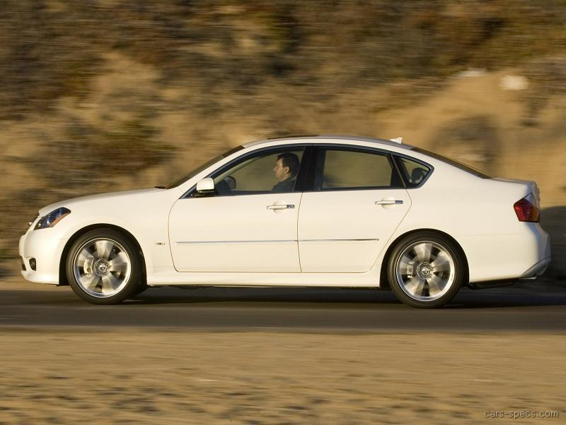 2008 Infiniti M45 Sedan Specifications Pictures Prices