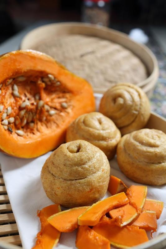 南瓜饅頭   480g(一袋6顆)