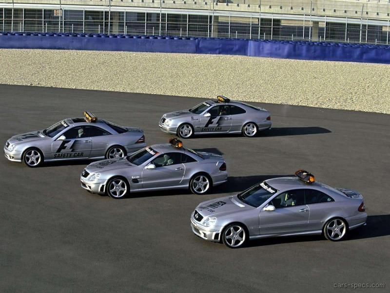 Mercedes Clk Amg F Safety Car Model