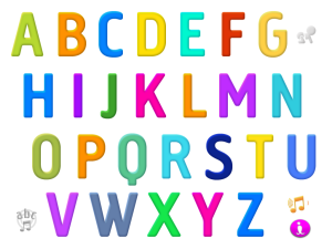 Interactive Alphabet Main Page