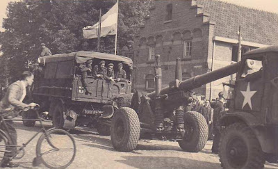 The British second army in Nijmegen, September 1944.