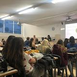 2018-10-09 SMIX, CAI i EDI participen a una xerrada a càrrec de Lois Morell de l'AECC per col·laborar solidàriament en el Dia Internacional contra el Càncer de Mama