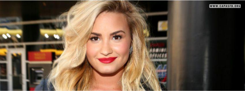 Capas para Facebook Demi Lovato