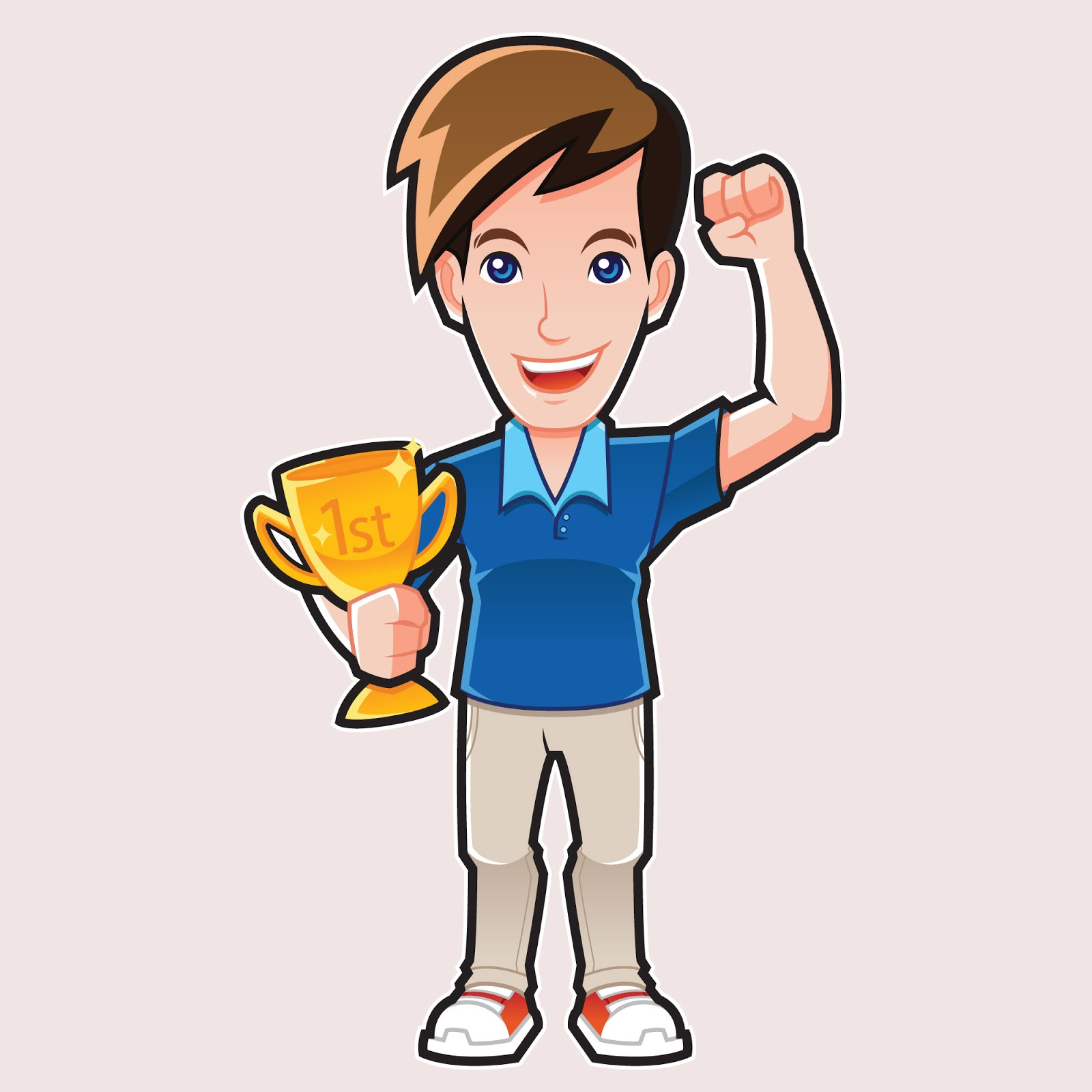 Champion Guy Free Download Vector CDR, AI, EPS and PNG Formats
