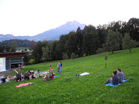 Fotos vom Open-Air-Kino, 28. August 2015