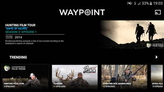 Waypoint TV - náhled