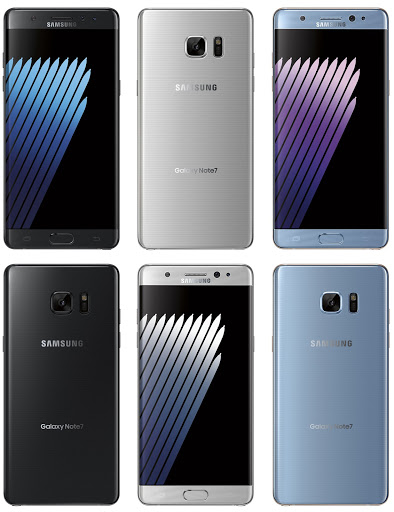 Leaked Images Of The Samsung Galaxy Note 7 2