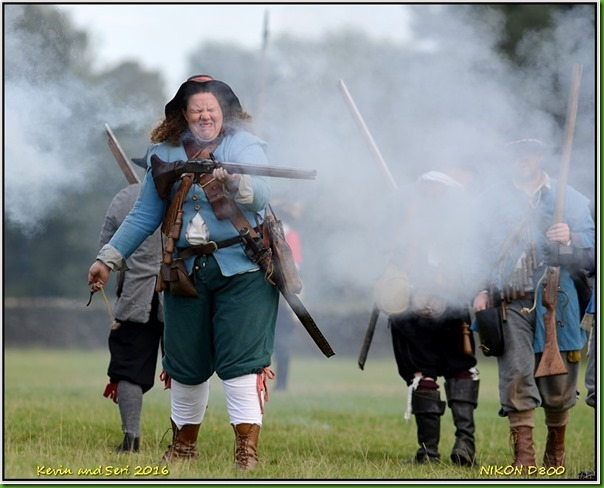 Sealed Knot at Bradgate Park - September