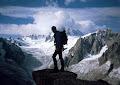 Aiguille du Moine (3412m), French Alps 1998