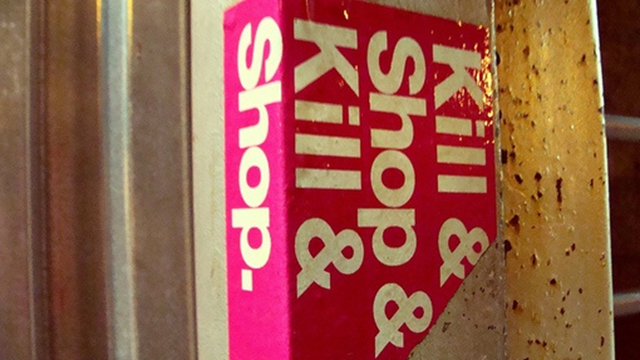 'Kill and Shop and kill and shop.' Photo: Athena Iluz / CC BY 2.0
