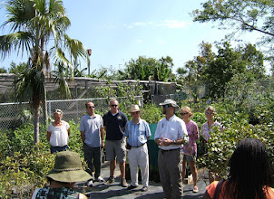 Photo: Native Tree Nursery opening at the Queen Elizabeth II Botanic Park, Grand Cayman. Mar.14, 2009
