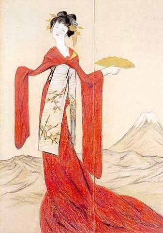 Goddess Tatsuta Hime Image