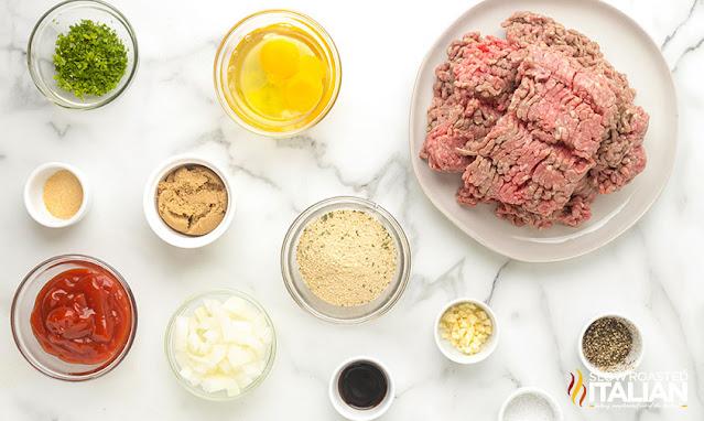 easy meatloaf recipe ingredients