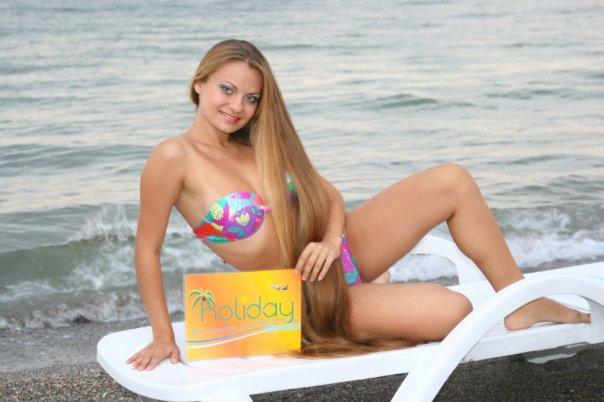 victoria secret models long hair Alla Perkova