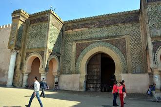 Photo: I arrive at Meknes