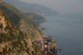 Three of the Cinque Terre towns (Vernazza, Corniglia, Riomaggiore)