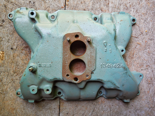 Used 2 barrel intake 62-63 401 LeSabre 50.00 will work on all 401 and 425 engines.