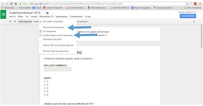 Tutorial de Google Drive primeros pasos - Destino de respuestas de ...