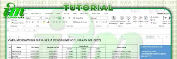 Cara Menghitung Masa Kerja Guru dengan Menggunakan Microsoft Excel