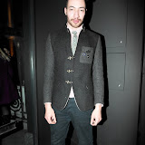 WWW.ENTSIMAGES.COM - Mr Woods Designer   at  Kriss Soonik Voodoo Valentine's PartyLuxury lingere brand celebrates Valentine's Day -  launches their new collection, with a themed party.Wolf & Badger, Dover Street, London February 6th 2013                                                  Photo Mobis Photos/OIC 0203 174 1069