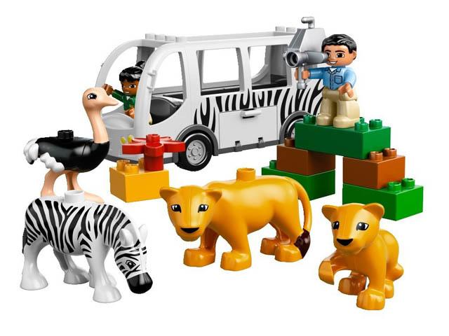 レゴ デュプロ どうぶつえんバス 10502