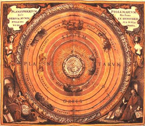 The Seven Planets In The System Of Ptolemy, Tablets And Numbers