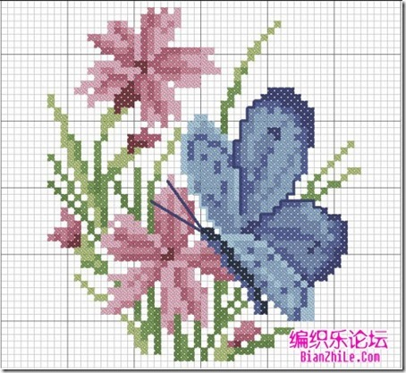 mariposas punto cruz (6)