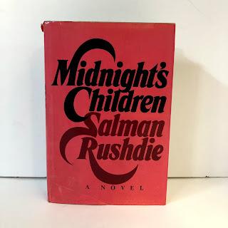 """Salman Rushdie """" Midnight's Children"""" First Edition"""