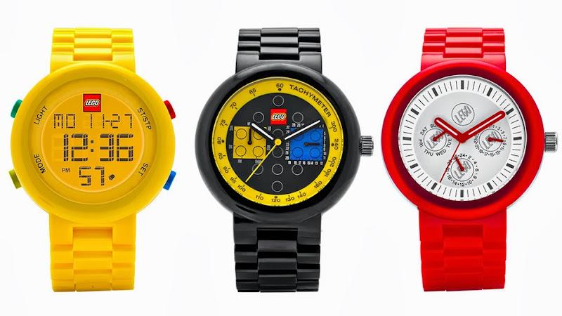 LEGO cuối cùng đã ra mắt bộ sưu tập đồng hồ cho người lớn