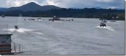 Barco Hundido en Guatape