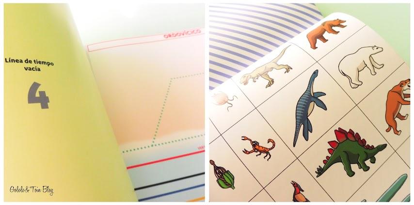 Material para trabajar las líneas de tiempo Montessori