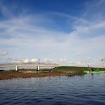 043-We paddelen door het mooie Noordwaard vaarwater.