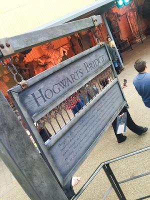 Hogwarts bridge Harry Potter Studios