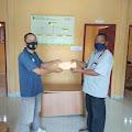 Pulau Sambu Kuala Enok Salurkan Batuan  Tanah Longsor DiKelurahan Kuala Enok.