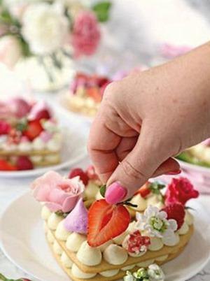 tortas con números 01