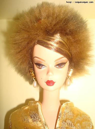 Barbie Silkstone Je ne sais quoi: cabeza y busto de la muñeca