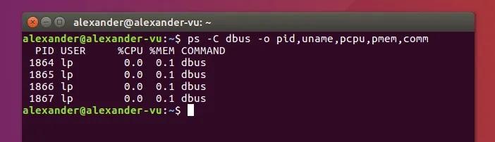 استخدم Ps على Linux O Flag