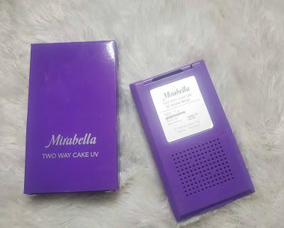 Mirabella Two Way Cake UV