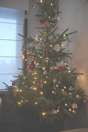 En de kerstboom staat natuurlijk ook al!