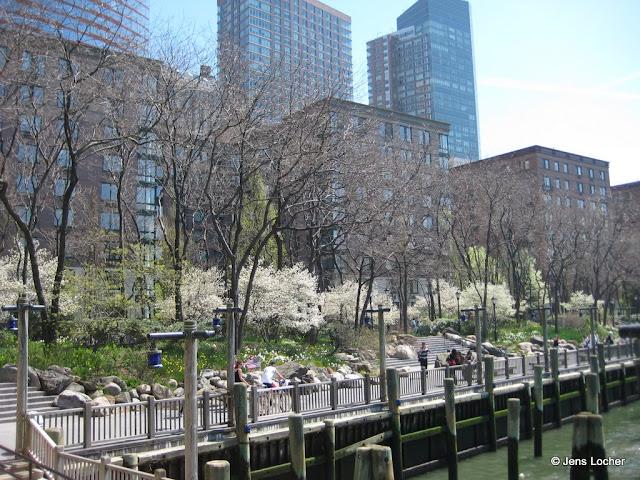 Battery Park South Cove