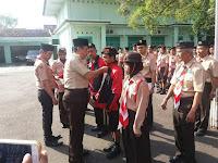 Ketua Mabincab dan Ka Kwarcab Rembang Memberangkatkan 33 Peserta Ke Jambore Nasional Cibubur 2016