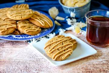 Coffee Laced Ginger Molasses Cookies